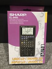Sharp EL-9400 Graphing Calculator Complete In Box With Manual