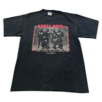 VTG 90s Nasty Boys Police Movie TV Series Promo Murina USA T Shirt Men's Large