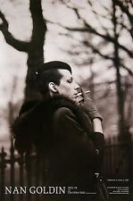 NAN GOLDIN 'Ivy in the Boston Garden' The Other Side 2007 Exhibition Poster NEW!