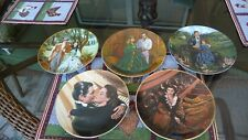 Gone With The Wind collector plates - Set of 5 plates