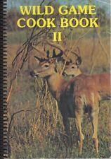 VINTAGE WILD GAME COOK BOOK II Cookbook~Farmers Sportsman League Terrace MN