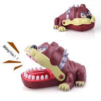 Family Time Large Bulldog Mouth Dentist Bite Finger Game Funny Toy Gift Kid