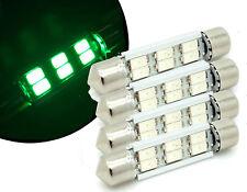 4x verde 6 LED Bombillas Interior Kit Set para Mercedes Sprinter van 2006-15
