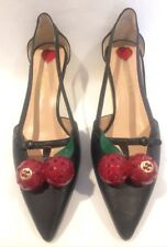 Gucci Leather Cherry Pump Shoes RRP $1230