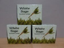 White Sage Incense Cones  Purifying- For Negativity And Misfortune  3 Boxes x 10