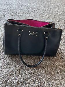 Kate Spade New York Large Handbag Purse Black RN 0102760 CA 57710