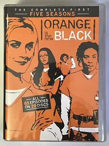 NEW ORANGE IS THE NEW BLACK THE COMPLETE FIRST FIVE SEASONS DVD 20 DISC SET BUY