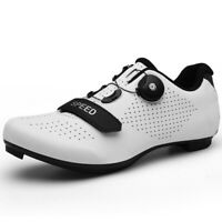 Ultralight SPD Pedal Cleat Road Cycling Shoes Mtb Triathlon Bike Bicycle Sneaker