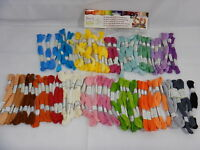 Iris I1380 Embroidery Thread Pack 8.75yd 24//Pkg-Ombres
