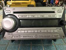 07-10 TOYOTA FJ Cruiser Radio 6 Disc CD Mp3 Player 86120-35381 OEM