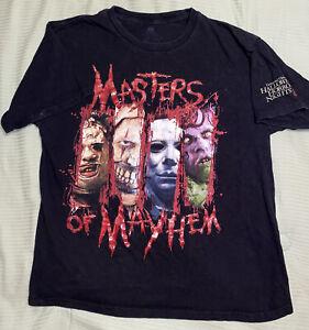 Universal Orlando Halloween Horror Nights 26 2016 Masters Of Mayhem T-shirt M