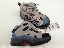 BNWT Little Boys Sz 6 Rivers Doghouse Brand Blue and Grey Lace Up Walking Boots