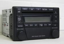 Mazda MX5 - Mk2.5 (NBFL) 01-05 - STOCK HEAD UNIT STEREO RADIO CD PLAYER - Black