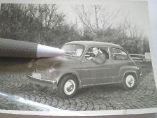 FICA FIĆA FIAT AUTO PHOTO 1959 ITALY CAR ZASTAVA 750 YUGOSLAVIA PICTURE ORIGINAL