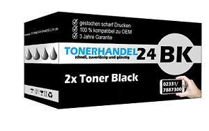 2x Toner schwarz kompatibel für SAMSUNG CLT-K504 CLP 415N CLX4195FW CLX 4195FN