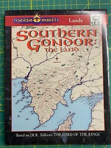 MERP - Southern Gondor: The Land - 2nd Edition (VG+/NM, Very Rare, Long OOP)