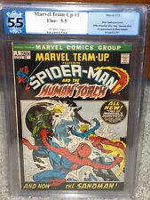 Marvel Team-Up #1 PGX 5.5 1972 1st Misty Knight! Spider-Man! Free CGC Mylar! cm