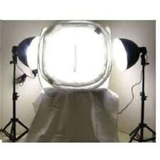 Pair of Photography Studio Continuous Lighting Kit With 50cm Light Tent
