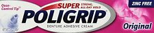 Super POLIGRIP Denture Adhesive Cream 2.4 OZ