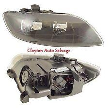 Audi Q7 06-09 Black Headlight Headlamp Lamp Right Driver  Side