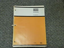Case Model 26C Backhoe for 350 450 Crawler & W14 Loader Parts Catalog Manual