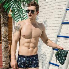 Men's Sexy Underwear Beach Swim Quick Dry Cactus Briefs Swimming Swimwear