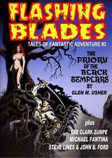 158 FLASHING BLADES #2 Rainfall chapbook.Tales of swordplay, sorcery & adventure