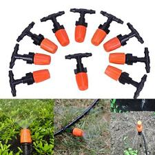 10 Paar T-Stück Verbinder  + Sprühdüse Düse Nebeldüse Bewässerungssysteme Garten