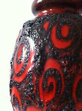 Scheurich Pop 30cm Vase 70s 70er fat lava, kreutz otto  es Ü  wgp ära 60s
