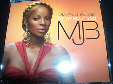 Mary J Blige be without You Australian CD Single with Moto Blanco Remix