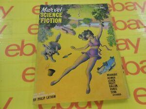 Marvel Science Stories - Nov. 1951 - Isaac Asimov - Jack Vance - Ray Bradbury &&