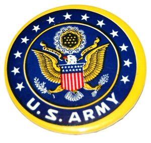 1945 UNITED STATES ARMY WORLD WAR 2 II US USA pin button pinback badge military