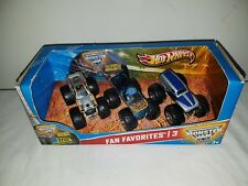 2012 MONSTER TRUCK JAM Fan Favorites #3 El Toro Loco GRAVE DIGGER DVD Hot Wheels