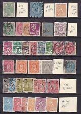 Scandinavia^Rarer Mnh/Mh/used Classics + others $ 233.00+@ dca 359scan
