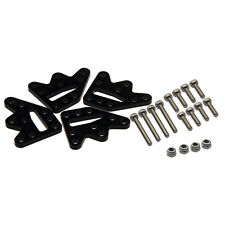 1 SET LIFT KIT Aluminum Shock DROOP KIT FOR SCX10 1/10 SCALE RC PARTS BLACK