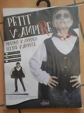 Déguisement costume NEUF vampire 7 8 9 ans garçon 140 cm halloween