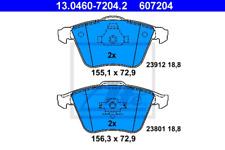 Bremsbelagsatz, Scheibenbremse für Bremsanlage Vorderachse ATE 13.0460-7204.2