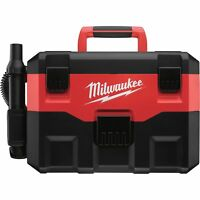 Milwaukee 18V Cordless Wet/Dry Vacuum, Model# 0880-20