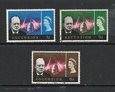 Used Postage Ascension Island Stamps