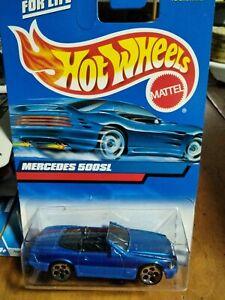 hot wheels mercedes 500sl