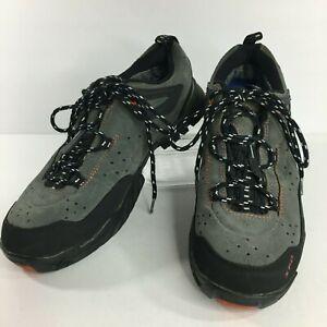 Shimano Low Top Shoes Sz 40 Gray Biking Lace Up SPD Gore-Tex MT60