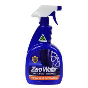 ZERO WATER TYRE CLEANER n WASH n SHINE WATERLESS SPRAY FOR CAR | AUSTRALIAN MADE
