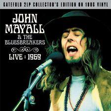 John Mayall & The Bluesbreakers Live 1969 (2LP Gatefold 180g Vinyl) NEW/SEALED