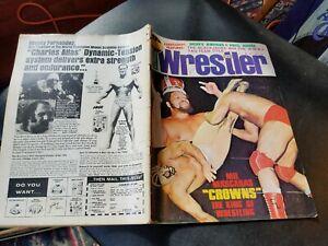 The WRESTLER December 1975 Magazine Dusty Rhodes Paul Jones Mil Mascaras