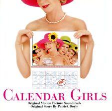 CALENDAR GIRLS Soundtrack Score CD Patrick Doyle BETH NIELSEN CHAPMAN  *VGUC*