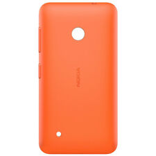 Clip-On Orange Hard Shell Case for Nokia Lumia 530 Fitted Protective Cover