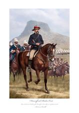 More details for rorkes drift isandlwana durnford zulu war art print ltd edition artist signed!