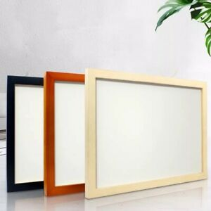 Solid wood Photo Frames Picture Frames Poster Size Frames Black White & brown