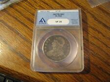 1927/6 Bust Half Dollar  ANACS VF 35      Box G DDWW