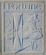 Fortune - January, 1939 Complete, Chevrolet, Monsanto, Cream of Wheat, Ads